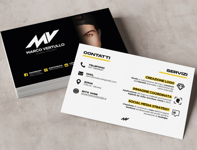 Logo Mockup - Business Card businesscarddesign businesscards businesscard mockup logomockup branding marcovertullo logotype logodesigner logo illustration graphicdesign designer design logodesign