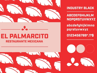 El Palmarcito One Pager brand guidelines logo logo design brand strategy branding design brand design branding brand identity graphic design design