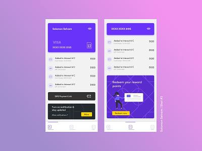 DribbleShots #2 app ui ux concept design