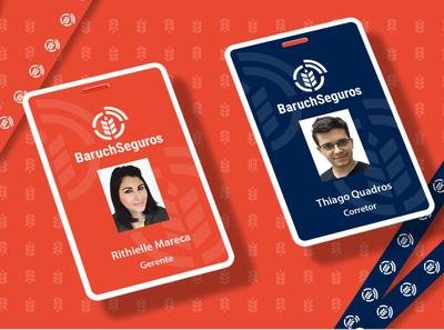 Baruch Seguros • Visual Identity identidade visual project branding visual identity marcas logotipo logo brands brand identity brand