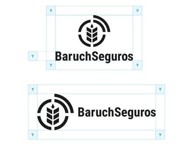 Baruch Seguros • Visual Identity project grids identidade visual branding visual identity marcas logotipo logo brands brand identity brand