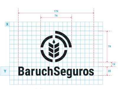 Baruch Seguros • Visual Identity project identidade visual branding visual identity marcas logotipo logo brands brand identity brand grids