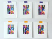 Woodblock prints