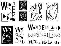 Wonderland types