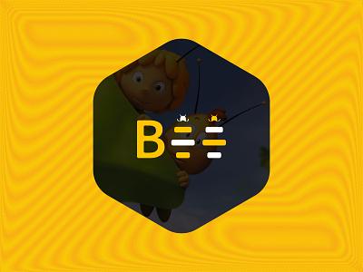 Bee wordmark logo minimalism bee logo bee icon branding vector date site logo new logo minimalist logo logomark flat logo design app icon logo logo design gradient logo illustration