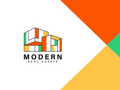 Modern Minimalist Logo brand logo architecture logo logo mark gradient logo trends 2021 modern minimalist logo real estate logo minimal logo minimal logo design new logo gradient logo app icon logo branding illustration logo design minimalist modern logo minimalist logo
