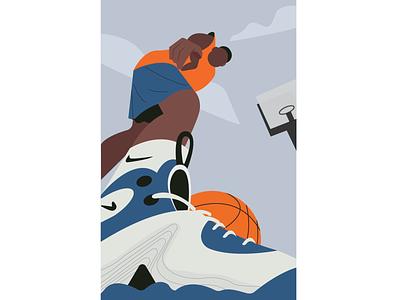 basketball player player sports nba basketball game nike motion illustration art digtalart illustrator graphicdesign motion graphics illustration motiongraphics illustrationart graphics digitalart illustration