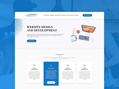 Web Design Company Homepage