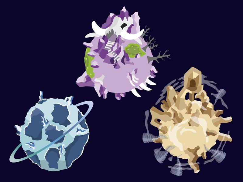 mundos juego design illustration vector