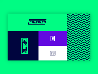 Canal Entortei art direction typography youtube clothing sports flat minimal neon logo design branding brand identity