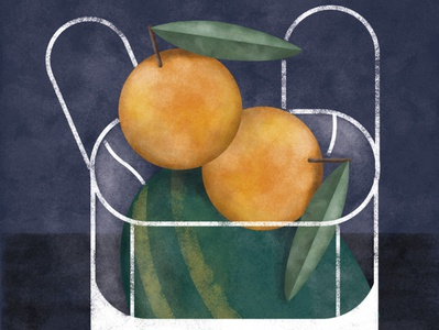 Fruits illustration for a publicity campaign fruits fruit illustration publicity illustration digital art illustration art editorial art illustration
