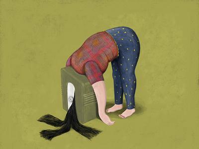 To be my children's teacher editorial desesperaron teacher emotional illustration emotional design illustration art editorial illustration digital art illustration illustrator