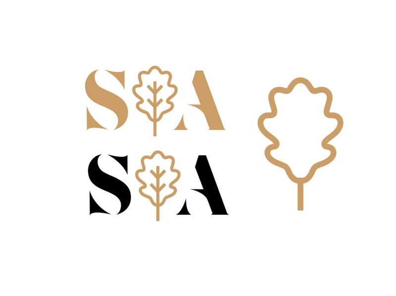 SAK Logo branding logo design