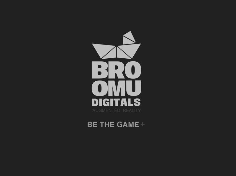 Broomu Logo icon branding typography vector design
