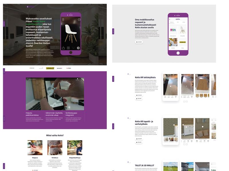 Kotio Landinpage wordpress app web branding design