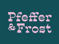 Pfeffer & Frost