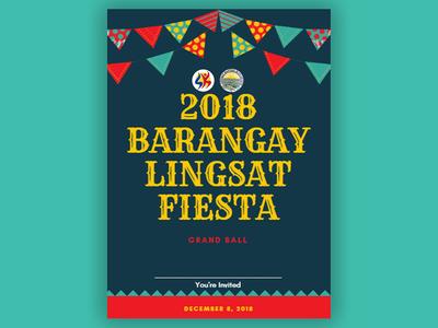 Fiesta Invitation design