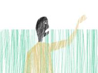 Man In Grass