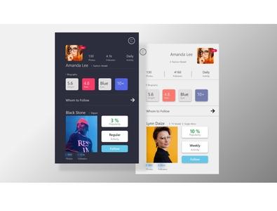 Social Feed App UI social media social app design design app ui  ux uiux ui design ui