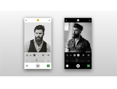 Camera Adjustments Live App Ui Day and Night Mode app design app design ui  ux uiux ui design ui