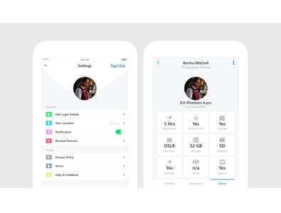 Drone App Ui Design app design app design ui  ux uiux ui design ui