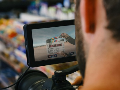 Cinema Camera System Mockup [Free PSD Mockup] mockup free psd free mockup free download freebie television operator motion picture lens frame film equipment cinema camera cam