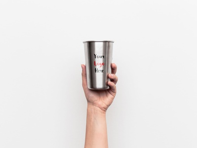 Stainless Steel Tumbler Free PSD Mockup psd mockup psd free psd free mockup free download freebie tumbler template steel stainless mockups mockup mock-up cup