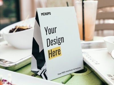 Free Table Tent Mockup mockup psd mock-up free psd free mockup free download tent mockup table tent table flyer psd presentation mockup freebie free flyer desk tent