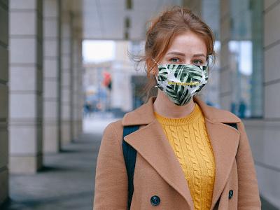 Woman in Mask Mockup mockups free psd mock-up mockup free psd free download freebie psd mockup mockup psd mask mockup free mockup face mask mockup