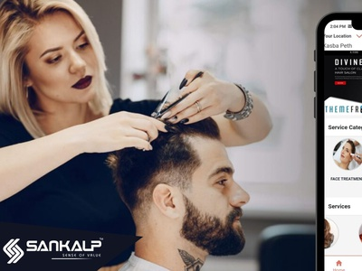 Make Your Salon Services Stand-Out? Build app today! android ios mobileapp appdevelopment salonbookingapp salonapp