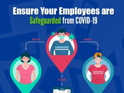 Ensure your employees are safe at work with Contact Tracing App appdevelopment mobileapp covidapp contacttracingapp