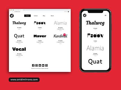 My new website is now online! sans кириллица cyrilic webfont webdesign design graphic design graphicdesign graphic brand identity discount font typography design typographic typography typedesign typeface new website website design website