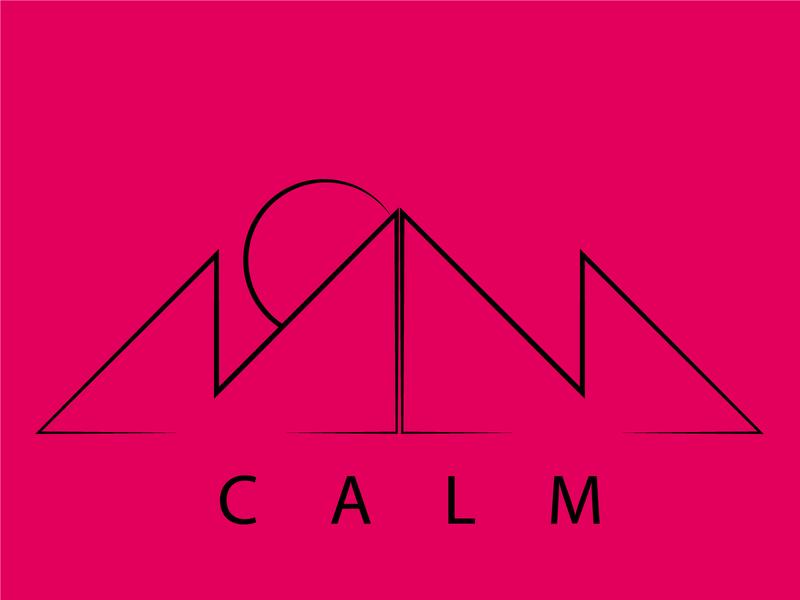 calm art logo icon illustrator vector unique logo design crative illustration