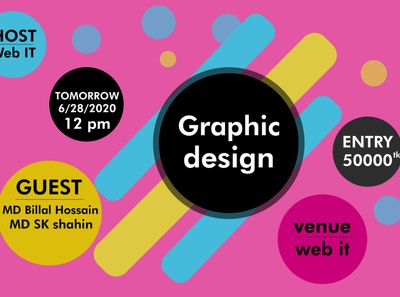 event  postar logo art illustrator unique logo vector design crative illustration