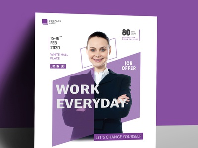 Corporate Business Flyer Template creative creative agency clean clean design vector shopify fashion modern a4 flyer minimal branding sale marketing