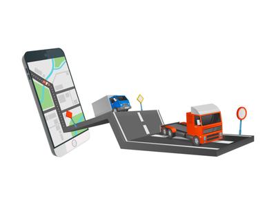 Vehicle monitoring through the application van transport mobile application monitoring vehicle