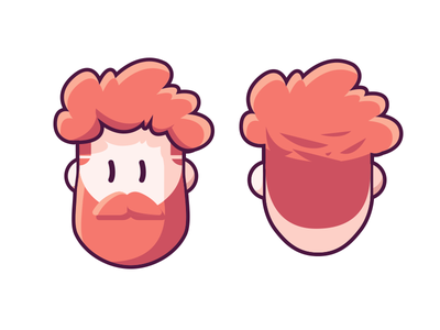 Myskillcamp #1 hipster roux personnage caracter beard redhead face