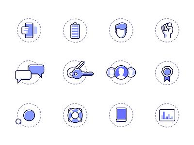 MySkillCamp Icon Set web icons set picto icon