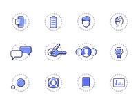MySkillCamp Icon Set