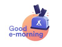 Good e-morning