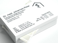 Business Card Doctors Office