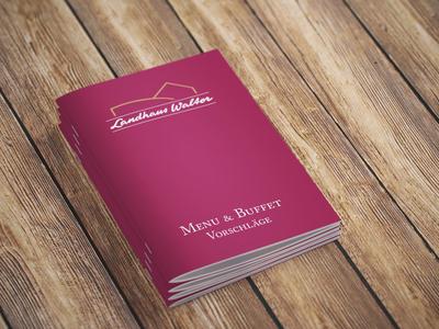 Menu & Buffet Booklet