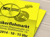Musicians Flea Market Poster