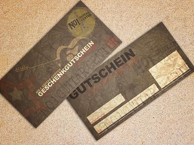 Guitar Store Gift Coupon store guitar coupon print flyer