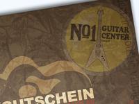 Guitar Store Gift Coupon