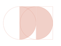 »jd« Logo Construction Idea