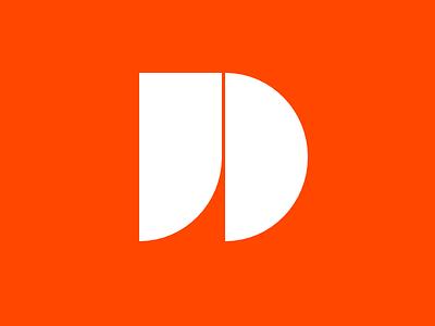 New »jd« Logo initials flat jd logo