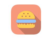 Burger Store App Icon