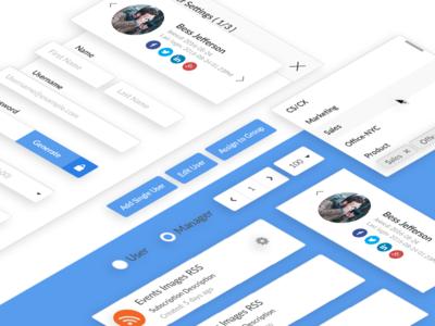 PostBeyond Desktop App UI Components