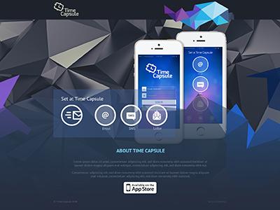 Time Capsule Website Design